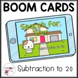 Boom Cards Subtraction to 20