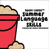 Boom Cards™️ Summer Language Skills