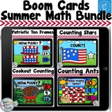 Boom Cards Summer Math Bundle