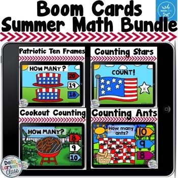 Boom Cards Summer Math Bundle