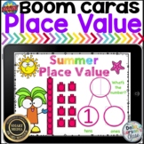 Boom Cards Summer Place Value