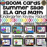 Boom Cards End of the Year Review Bundle Kindergarten