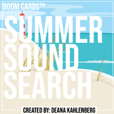 Boom Cards™️ Summer Sound Search