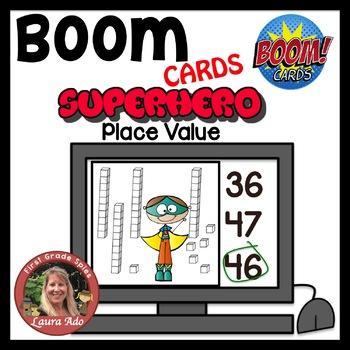 Boom Cards Superhero Place Value