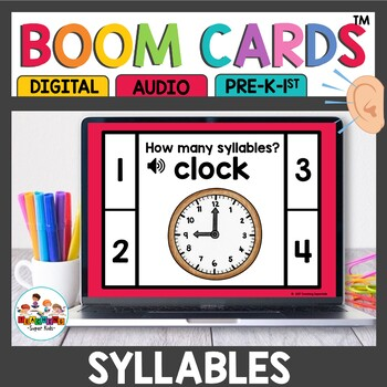 Boom Cards Syllables
