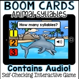 Boom Cards - Counting Syllables (Kindergarten)