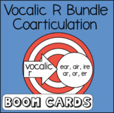 Vocalic R Words | Speech Therapy | Articulation | Boom Cards