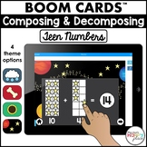 Boom Cards Teen Numbers (Digital Task Cards) - Distance Learning