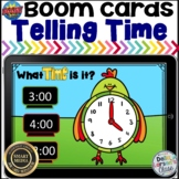 Boom Cards Telling Time