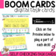 Boom Cards Telling Time bundle