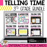 Boom Cards Telling Time bundle