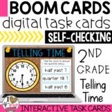 Boom Cards Telling Time (quarter after, quarter till, half past)
