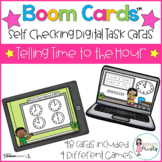 Boom Cards™ Telling Time to the Hour (Digital Learning)