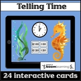Boom Cards Telling Time to the Hour & Half Hour
