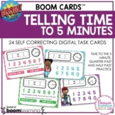 Boom Cards™ Telling Time to the Nearest 5 Minutes