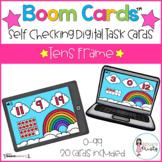 Boom Cards™ Tens Frames