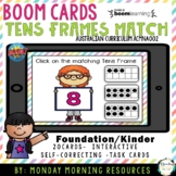 Boom Cards™ Tens Frames Recognition and Match - 1-10 - Dis