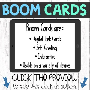 Boom Cards - Tens and Ones Place Value