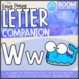 Boom Cards™ ● The Easy Peasy Letter Companion ● Alphabet A