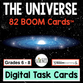 Boom Cards:  The Universe (Space Science)