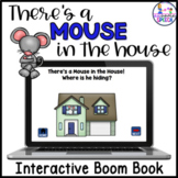 Boom Cards: There's a Mouse in the House (Book & Game)