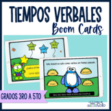 Boom Cards™ Tiempos verbales | Verbo |  Distance Learning