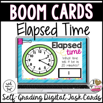 Boom Cards Time Elapsed Time