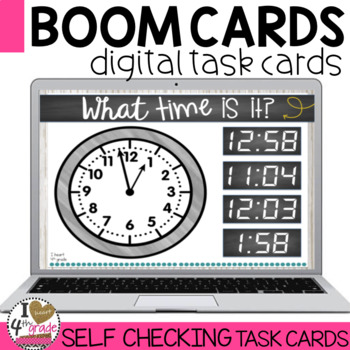 Boom Cards Time to the Minute
