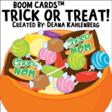 Boom Cards™️ Trick or Treat!