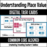 Boom Cards™ Understanding Place Value Distance Learning