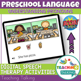 Speech Therapy Boom Cards - Understanding Pronouns