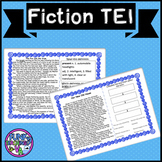 Boom Cards- VA SOL Fiction with TEI Practice