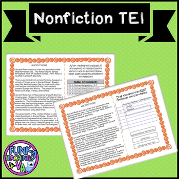 Boom Cards- VA SOL Nonfiction with TEI Practice