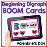 Boom Cards - Valentine's Day Beginning Digraphs