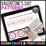 Boom Cards™ | Valentine's Day Patterning Digital & Printab