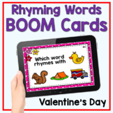 Boom Cards - Valentine's Day Rhyming Words