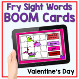 Boom Cards - Valentine's Day Sight Words Mystery Picture