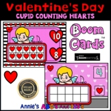 Boom Cards ™ Valentine's Ten Frame Counting