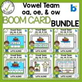 Boom Cards Vowel Team OE OA and OW Bundle