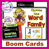Boom Cards Phonics WORD FAMILIES & PHONOGRAMS Volume 4 for 1st Grade