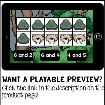 Boom Cards - Ways to Make Ten (Decomposing) Kindergarten Digital Math