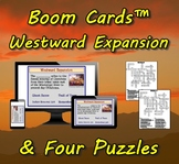 Boom Cards™ Westward Expansion & Four Puzzles