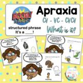 Boom Cards | What Is It | Apraxia | CV VC CVCV Patterns