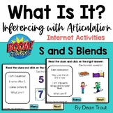 Boom™ Cards | What Is It? | Articulation S and Blends | In