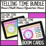Boom Cards™ | What Time Is It? Telling Time Digital Task C