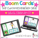 Boom Cards™ Which State Am I? (Digital Learning)