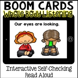 Boom Cards- Whole Body Listening Interactive Social Story