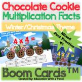Boom Cards™ Winter & Christmas Visual Multiplication Dista