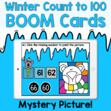Boom Cards - Winter Count to 100 by 1