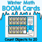 Boom Cards - Winter Count to 20